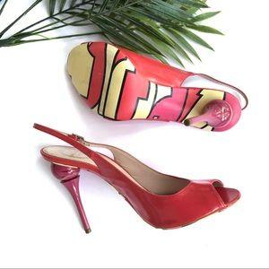 PUCCI   Coral Sling back Pucci Print Heels 🔥